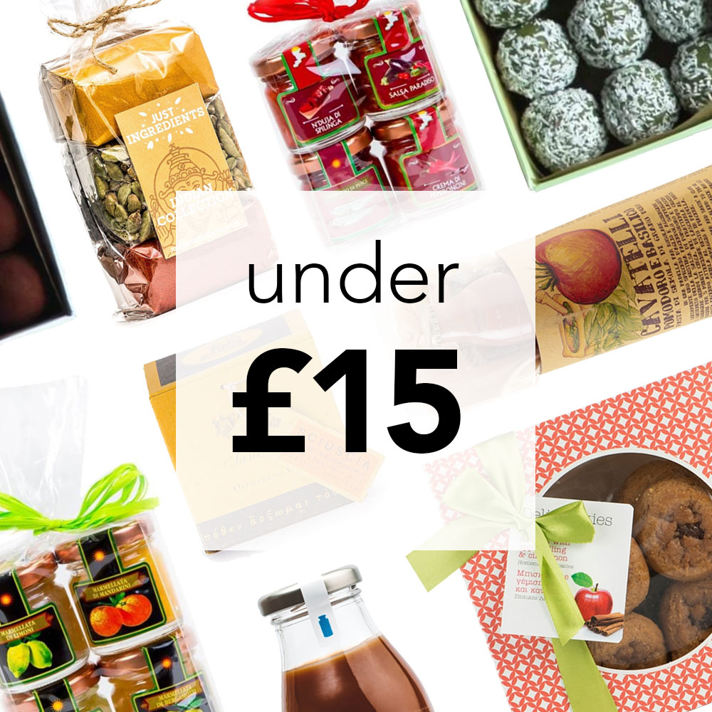 Delicious Christmas Gifts for Under £15