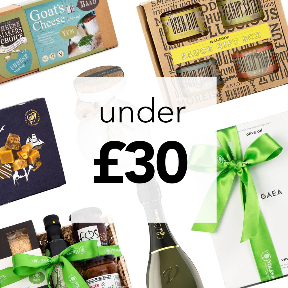 Christmas Food Gift Sets for Under £30